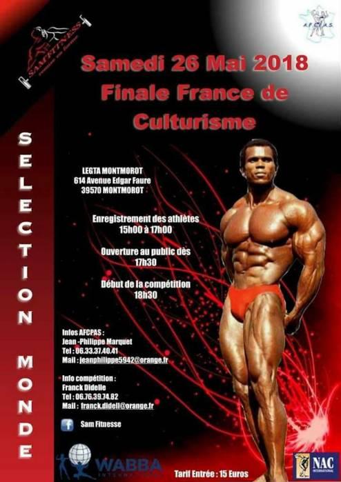 afcpas FINALE FRANCE 2018