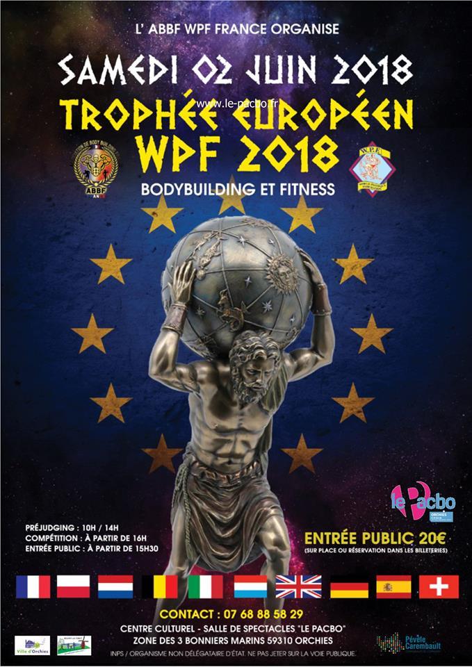 affiche EUROPE WPF 2018