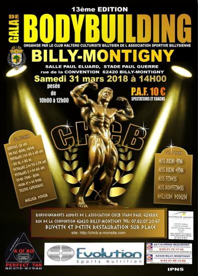 billy montigny 2018