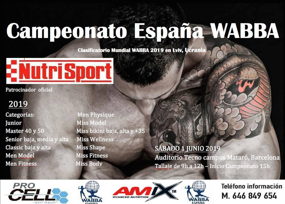 Wabba España 2019 Campeonato España Campeonato Wabba ZiOkXuP