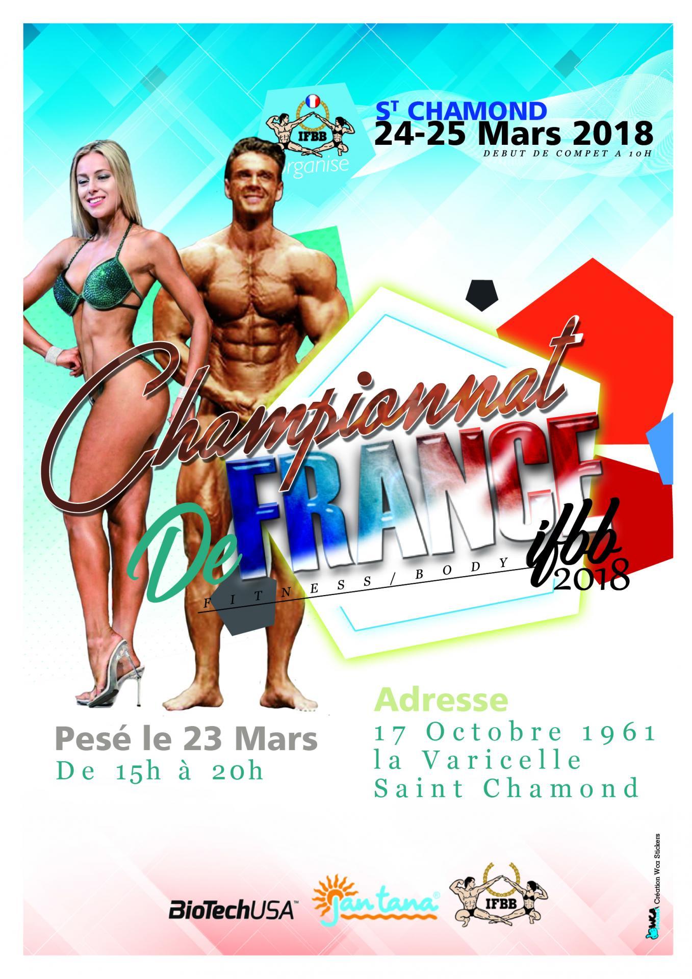 Ifbb final france 2018