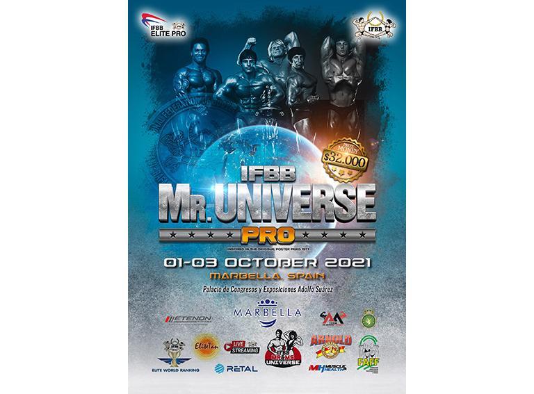 Poster mr universe